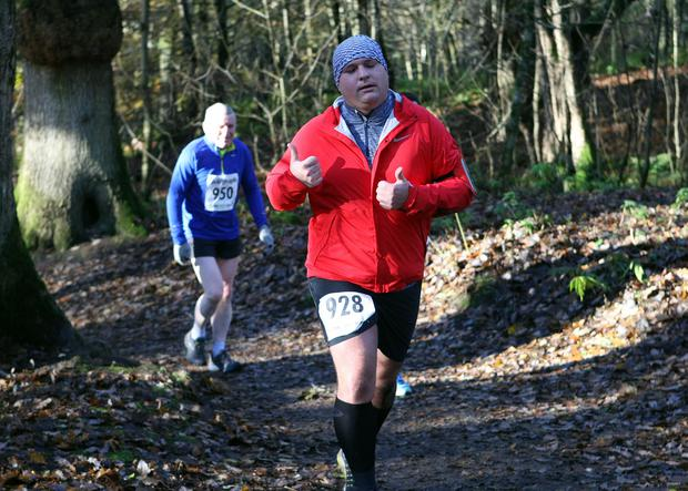 Mandatory Credit - Picture by Freddie Parkinson/Press Eye © Saturday 19th November 2016 Belfast Telegraph Run Forest Run Drum Manor Forest Park, Drum Road, Cookstown BT80 9RT Benjamin	Guyomard Belfast