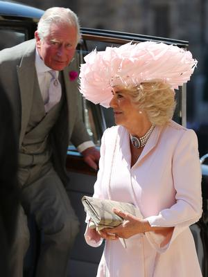 The Prince of Wales and Duchess of Cornwall were among the final guests to arrive (Gareth Fuller/PA)