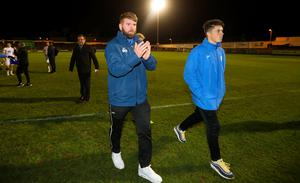 SSE Airtricity League First Division Promotion/Relegation Play-off Series Final Second Leg, Market's Field, Limerick 2/11/2018 Limerick vs Finn Harps Finn Harps' Paddy McCourt after the game Mandatory Credit ©INPHO/Tommy Dickson