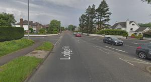 The incident happened in the Lodge Road area. Pic Google.