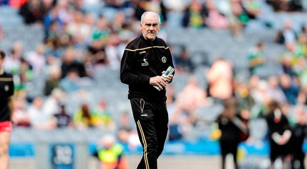 New chapter: Mickey Harte is entering his 17th season at helm of Tyrone, but his backroom now has an all new look