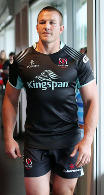 New arrival: Jean Deysel is ready to bring his trademark power to help Ulster's cause this season. Photo: Kelvin Boyes /Presseye.