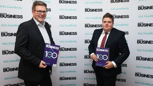 Guests pictured at the Ulster Business Top 100 magazine launch at The Penthouse at The Europa Hotel, Belfast. Photo by Kelvin Boyes  / Press Eye.