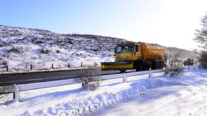 Snow and ice weather warning issued for NI. [Stock pic]