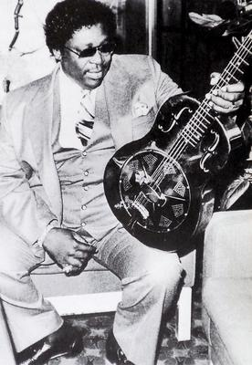 Blues legend BB King with the National Duolian steel guitar, named Hard Rock (Keith Perry/PA)