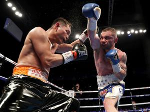 Carl Frampton and Nonito Donaire battle it out for the WBO Interim featherweight title on Saturday night at the SSE Arena, Belfast.