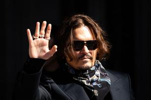Johnny Depp is at the Royal Courts of Justice for his libel action against News Group Newspapers (Aaron Chown/PA)
