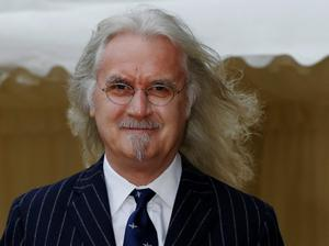 Billy Connolly arrives for a reception for the British Film Industry held by Queen Elizabeth II  and the Duke of Edinburgh at Windsor Castle