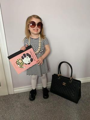 Mylah Gracey age 3 as Coco Chanel