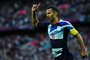 Olympic dream: Welshman Ryan Giggs captained Team GB's team at London 2012