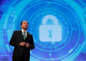 LAS VEGAS, NV - JANUARY 04:  Yasuji Enokido, President of Panasonic AVC Newwork Company, speaks during a press event for CES 2017 at the Mandalay Bay Convention Center on January 4, 2017 in Las Vegas, Nevada. CES, the world's largest annual consumer technology trade show, runs from January 5-8 and is expected to feature 3,800 exhibitors showing off their latest products and services to more than 165,000 attendees.  (Photo by Alex Wong/Getty Images)