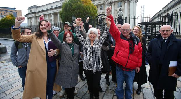 Appeal court judges have ruled the Stormont Executive Office has the power to compensate survivors of institutional abuse in NI (PACEMAKER BELFAST 04/11/2019)