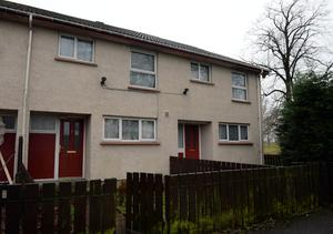 The 'House of Horrors' on Drumellan Mews, Craigavon