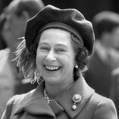 File photo dated 21/04/1974 of Queen Elizabeth II smiling as she celebrated her 48th birthday at Windsor Castle as she turns 90 on the April 21st.