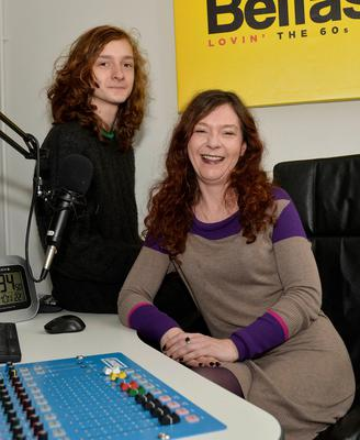 Music matters: Lisa Flavelle with her son Bengether