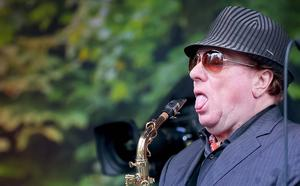 Van Morrison as he performs at his birthday concert in Cyprus Avenue, east Belfast. Picture: Kevin Scott / Belfast Telegraph