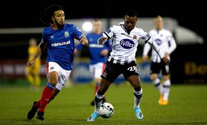Linfield faced Dundalk in the inaugural Champions Cup in November and the Irish FA have opened the door to expanding that cross-border tournament rather than sanctioning Kieran Lucid's proposals.