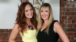 The National Grande Cafe Bar: Genevieve Porter and Sara Neill