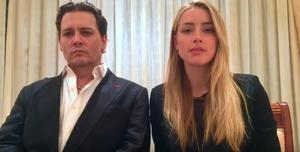 Johnny Depp and Amber Heard apologise in an Australian Government video.