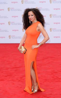 Natalie Gumede arriving for the 2013 Arqiva British Academy Television Awards at the Royal Festival Hall, London. PRESS ASSOCIATION Photo. Picture date: Sunday May 12, 2013. See PA story SHOWBIZ Bafta. Photo credit should read: Dominic Lipinski/PA Wire