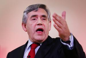 Former Prime Minister Gordon Brown put some passion into the 'Better Together' argument