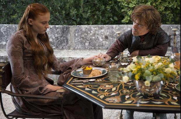Game of Thrones Sansa and Tyrion have a heart-to-heart HBO