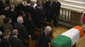 Bill Clinton pays his own touching tribute to Martin McGuinness. Pic BBC