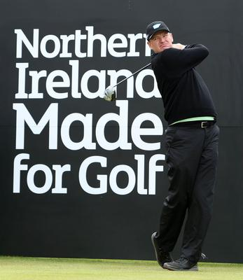Photographer ?Matt Mackey - Presseye.com  26th May 2015  2015 Dubai Duty Free Irish Open at Royal County Down Golf Club, Newcastle, Northern Ireland.  Ernie Els.