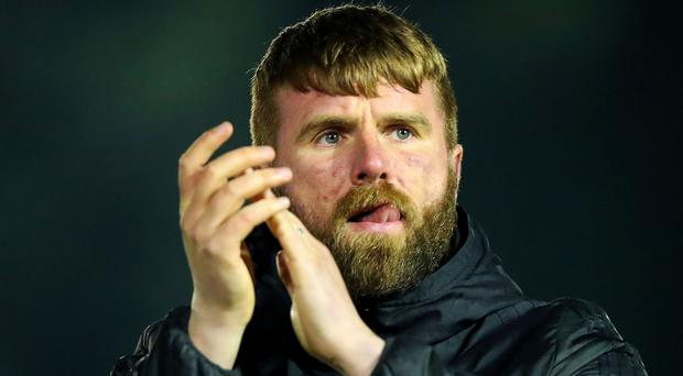 Stepping up: Paddy McCourt
