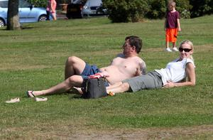 Seapark, Holywood, Co Down. Temperatures have hit the glorious 20s in Northern Ireland. Picture by Freddie Parkinson/Press Eye