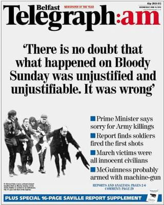 The Bloody Sunday report.