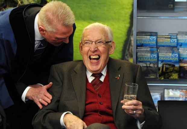 Ex-DUP leader Ian Paisley has been admitted to hospital for tests