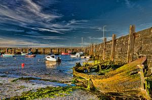 Ballywalter Harbour. Photograph by Tim Gaston