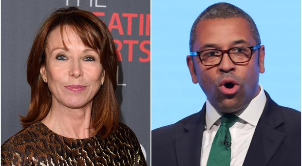 Ofcom could investigate Kay Burley 'empty chairing' James Cleverly (PA Wire/PA)