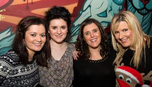 The Alley cat pictured Una Cox, Fionnuala McCall, Aine Melrose and Gemma Galagher