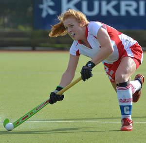 On the way up: Ulster girl Zoe Wilson is aiming to make an impression at the Irish women's training camp in Spain