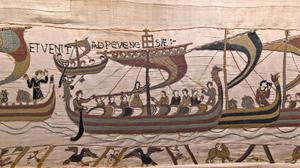 A section of The Bayeux Tapestry (Stephane Maurice/Bayeux/PA)