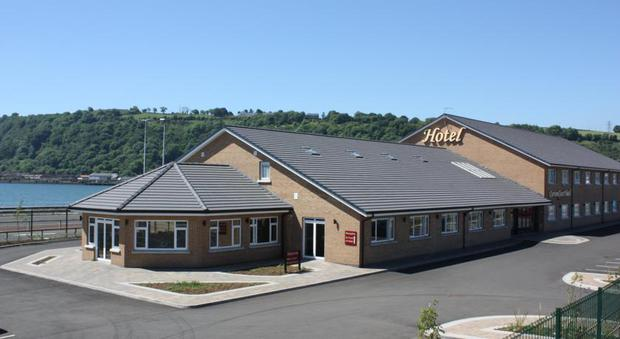 9. Curran Court Hotel, Larne. Rating 89.71. Avg room rate £75