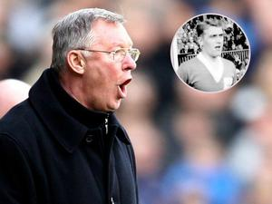 Sir Alex Ferguson's hairdryer treatment became infamous during his long and successful reign as Manchester United manager but former team-mate Roy Barry says it was a trait he learned from  his boss at Dunfermline Willie Cunningham (inset).