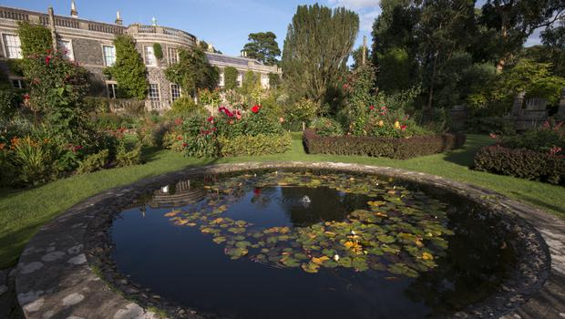 The garden at Mount Stewart House, Garden and Temple of the Winds, County Down.