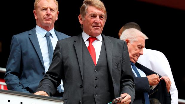 "Former Liverpool player and manager Kenny Dalglish during the opening of the Anfield Main Stand, Liverpool. PRESS ASSOCIATION Photo. Picture date: Friday September 9, 2016. Photo credit should read: Peter Byrne/PA Wire. RESTRICTIONS: EDITORIAL USE ONLY No use with unauthorised audio, video, data, fixture lists, club/league logos or ""live"" services. Online in-match use limited to 75 images, no video emulation. No use in betting, games or single club/league/player publications."