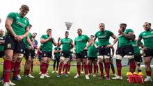 Up for it: the Lions talk tactics during yesterday's training session in Auckland. Photo: Billy Stickland/INPHO