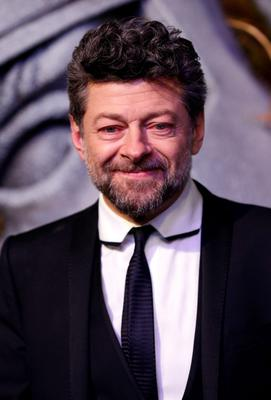 Andy Serkis arrives on the green carpet for the premiere of The Hobbit: Battle of the Five Armies, at the Odeon Leicester Square in central London.