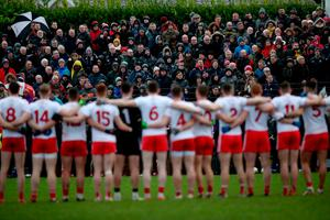 One family: Tyrone players face supporters