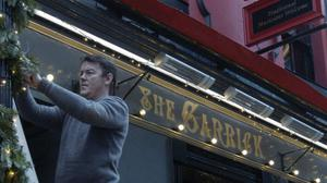 As part of the campaign, eight pubs across Ireland have already been lit up with support from the Guinness Raising The Bar fund (Diageo/PA)