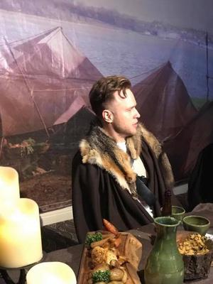 TheOlly Murs at the Game of Thrones Banquet