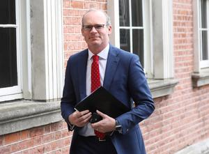 Simon Coveney said the green list will not be particularly long (Julien Behal/PA)