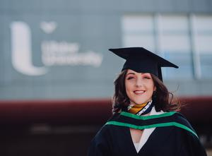 Ulster University graduate's passion for food leads her to Paris. Karen Lacey graduates with an honours degree in Food and Nutrition.Picture John Murphy Aurora PA