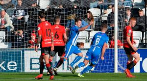 Familiar foe: Ben Doherty's double stunned the Crues at Seaview back in October
