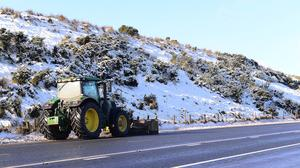 Northern Ireland looks set for more bad weather. Picture By: Arthur Allison. Pacemaker Press.